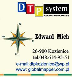 DTPsystem - Drukarnia Kartografia Reklama