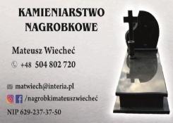 Kamieniarstwo nagrobkowe FHU Mateusz Wiecheć